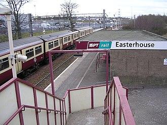 Easterhouse - Easterhouse railway station