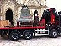 Echange cloche Ste-Jeanne d'Arc 11 janvier 2012 Orléans.jpg