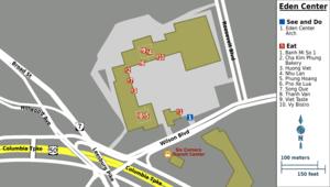 Eden Center - Eden Center map