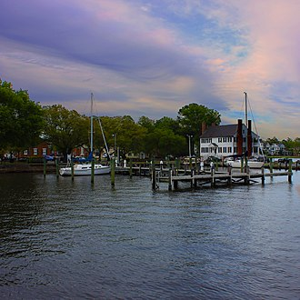 Edenton, North Carolina - Downtown Edenton Waterfront