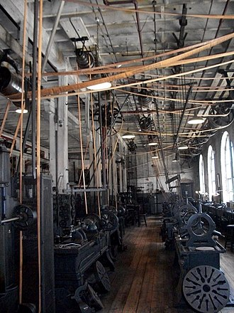 Thomas Edison National Historical Park - A view of the interior of the industrial complex.