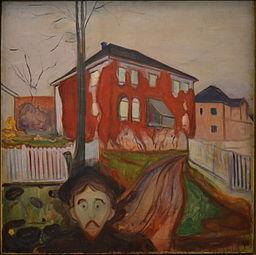 Edvard Munch, Rød villvin