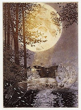 Edward Okuń - Image: Edward Okuń Motyle nocne