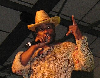 Eek-A-Mouse - Eek-A-Mouse performing in 2006