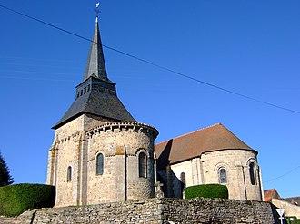Boussac-Bourg - The church in Boussac-Bourg