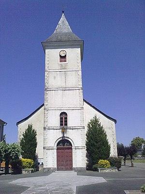 Arros-de-Nay - The church of Saint-Jacques-le-Majeur.