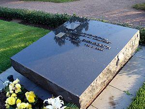 Adolf Ehrnrooth - The tombstone of General Adolf Ehrnrooth at the Hietaniemi cemetery in Helsinki