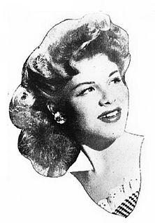 Eileen Barton American female singer