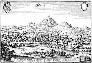 Eisenach - Eisenach in 1647