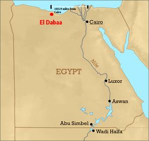 El Dabaa - Image: Eldabaa location