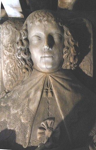 John Bluett - Image: Elizabeth Portman 1636Holcombe Rogus Devon