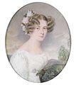 Emanuel Thomas Peter Bildnis einer jungen Frau mit Blumen im Haar.jpg