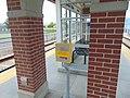 Emergency call box at Jordan Valley station, Apr 16.jpg