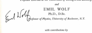 Emil Wolf - Image: Emil Wolf