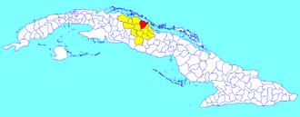 Encrucijada - Image: Encrucijada (Cuban municipal map)