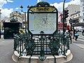 Entrée Station Métro Blanche Paris 2.jpg