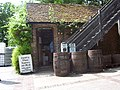 Entrance and Barrells at Lurgashall Winery - geograph.org.uk - 51059.jpg