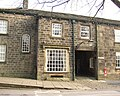 Entrance to Post Office Yard, Main Street, Burley in Wharfedale - geograph.org.uk - 699719.jpg