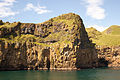 Entrance to the harbour of Vestmannaeyjar from the ferry Herjolfur-2.jpg