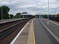 Epsom station platform 2 look north.JPG
