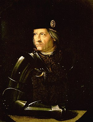 Josquin des Prez - Ercole I d'Este was an important patron of the arts during the Italian Renaissance; he was Josquin's employer in 1503 and 1504.