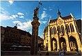 Erfurt - Fischmarkt - View NE on Rathaus.jpg