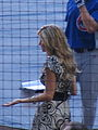 Erin Andrews, Cubs vs Brewers, July 30, 2008 4.jpg