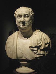 Max I Joseph, Bust by Ernst von Bandel (1826) (Source: Wikimedia)