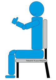 Escarre wikip dia for Assis sur une chaise