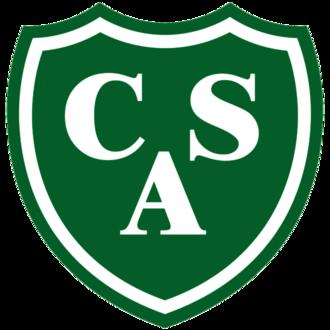 Club Atlético Sarmiento - Image: Escudo CAS Junín 1
