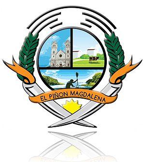 El Piñón - Image: Escudo el piñón magdalena