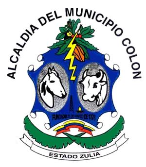 Santa Bárbara del Zulia - Image: Escudo mun Colón