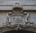 Escut a la façana de l'església del Temple, València.jpg