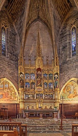 Church of St. Jaume - Main altar