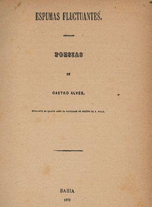 Espumas Flutuantes - Cover of the first edition