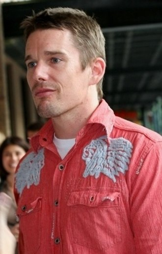 Ethan Hawke - Hawke at the premiere of The Hottest State in Austin, Texas, September 2007