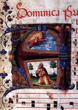 Eufrasia Burlamacchi - Manuscript illumination