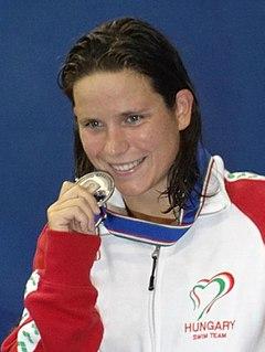 Éva Risztov swimmer
