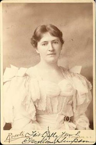 Rose Cleveland - Evangeline Marrs Whipple
