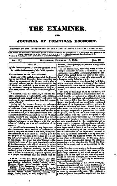File:Examiner, Journal of Political Economy, v2n10.djvu