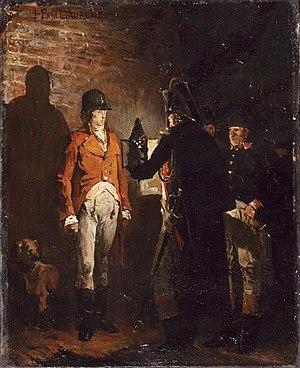 Louis Antoine, Duke of Enghien - Execution of the duc d'Enghien.