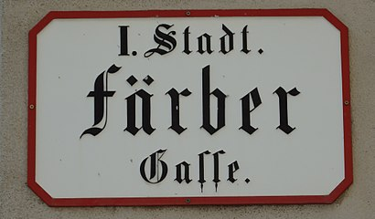 How to get to Färbergasse with public transit - About the place