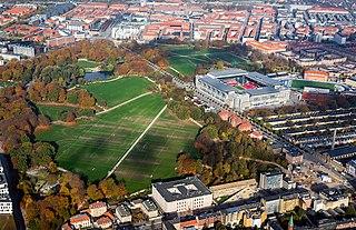 park in Copenhagen, Denmark