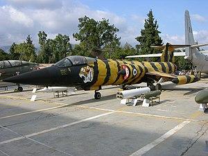 F-104G Hellenic Air Museum, Tatoi-Dekelia.jpg