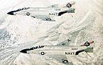 F-4J Phantoms of VF-41 in flight 1970.jpg