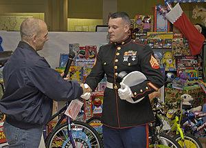 Toys for Tots - FEMA donations following Hurricane Katrina