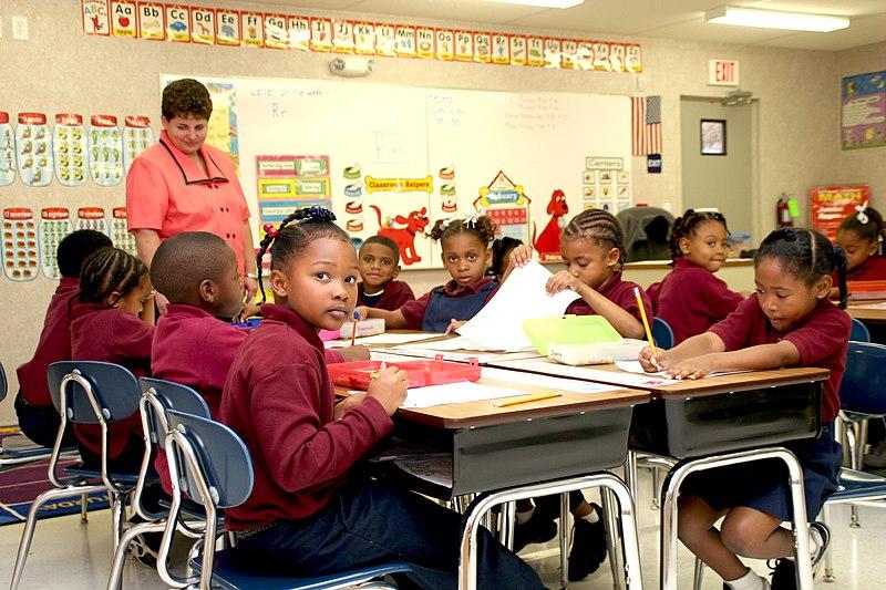 שיעור בבית-ספר בלואיזיאנה, ארצות הברית