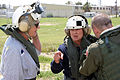 FEMA - 38487 - Preflight check with a local official in Texas.jpg