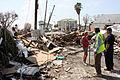 FEMA - 38754 - Residents of Galveston Island talk next to a debris pile in Texas.jpg