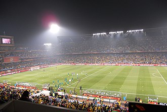 South Africa national football team - South Africa vs Uruguay at the 2010 FIFA World Cup